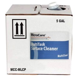 MicroCare - MCC-MLCP - MultiClean MultiTask Surface Cleaner 70/30 IPA/DI Supplied in Cubitainer 5 Gallon Container