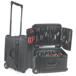 Chicago Case Company - R201 - Mil-Grade Wheeled Tool Case, 10 Deep