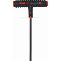 "Eklind Tool - 61606 - T-handle Hex 6"" X 3/32 Eklind (moq=4)"