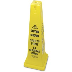 Rubbermaid - 6276-87 - 36 Caution Safety Cone Rubbermaid (moq=5)