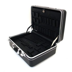 Platt Cases - 928T-CB - Deluxe Poly Case, Black. 9 Deep
