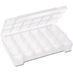 Akro-Mils / Myers Industries - 05905 - Storage Box, General Purpose, Plastic, 2.5 Height, 9.5 Width, 14.375 Depth