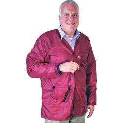 Tech Wear - VOJ-33KEY - V-Neck Groundable ESD-Safe Shielding Jacket, Small