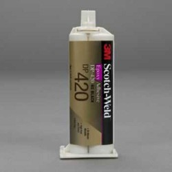 3M - DP420-BLACK-1.25 - DP420-Black-1.25oz - 3M Scotch-Weld Epoxy Adhesive DP420 Black, 1.25 oz