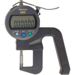 Mitutoyo - 547-400S - Digital Thickness Gage, 0.8 Throat