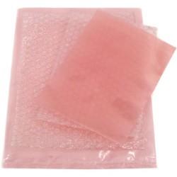 Botron - B16035z - 3x5 Pink Zip Top Anti Static Bags 4ml