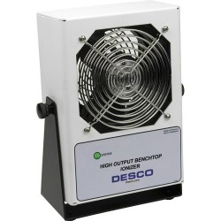 Desco - 60505 - High Output Bench Top Ionizer, 120VAC