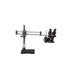 Luxo - 23726RB-ESD - ESD-Safe System 273 Dual Boom w/LED-3000 Ring Light