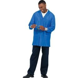 Worklon - 3474 - ESD-Safe Smock, Royal Blue, 3X Large