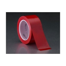 3M - 021200-03106 - Red Vinyl Tape 34 x 36YD (MOQ=48)