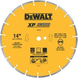 "Dewalt - DW4742 - 14"" Segmented Rim General Purpose Blade"
