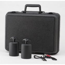 ACL Staticide - 381 - Foam-Lined Carrying Case with Two 5-Lb Probes and Test Leads