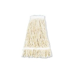 Other - UNS424C - Pro Loop Web/Tailband Wet Mop Head, Cotton, 24-oz., White