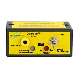 Static Solutions - CM-1700 - Constant ESD Monitor for Single Wire Wrist Straps