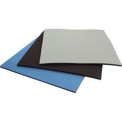 Botron - B3123 - 3-Layer Static Dissipative Rubber Table Mat, Blue, 24 x 36