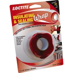 Loctite / Henkel - 1212164 - 1W Silicone Insulating and Sealing Tape, Red, 120 Length