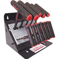 """Eklind Tool - 60614 - 13-pc. Power-t Key Set Inch W/stand 6"""" Arm"""