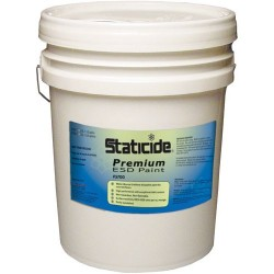 ACL Staticide - 5700W5 - Staticide Premium ESD Paint, White, 5 Gallon