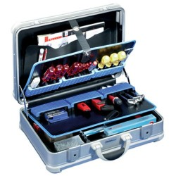 B&W - 104.02 - Aluminum Tool Case with Modul Pallets