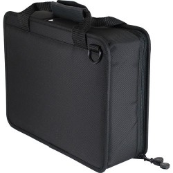 Agora Leather - Y7077UC - Ultralite Foam Filled Case, Black