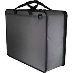 Agora Leather - Y7080UCGR - Ultralite Foam Filled Case, Gray