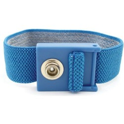 Botron - B9034 - Blue Adj Wrist Strap Only 1/4(7mm)snap