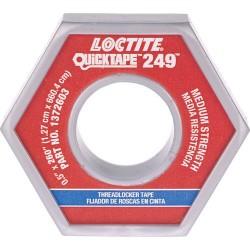 Loctite / Henkel - 1372603 - QuickTape 249 Medium Blue Threadlocking Adhesive Tape, 260 Roll (MOQ=10)