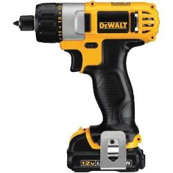 "Dewalt - DCF610S2 - Dewalt DCF610S2 12V MAX 1/4"" Screwdriver Kit - Driver Drill - 0.25"" Chuck"