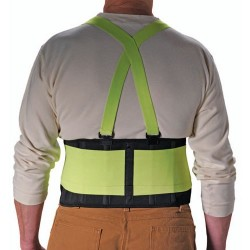 Protective Industrial Products (PIP) - 290-550 - Hi-Vis Back Support, Large