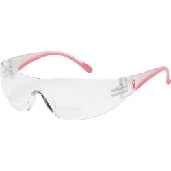 Protective Industrial Products (PIP) - 250-12-0200 - Lady Eva Women Reading Magnifier Safety Glasses, +2.00 Diopter, Clear Anti-Scratch & Anti-Fog Lens