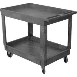 Wesco Industrial - 270,483.00 - Wesco 270483 500 Lb. Capacity 24 x 36 Plastic Production Cart