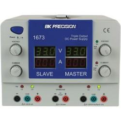 B&K Precision - 1673 - Triple Output Quad Display DC Power Supply ((2) 0-32V, 0-6A/(1)5V, 3A)
