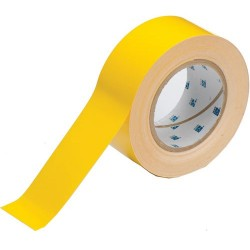 Brady - 104312 - Brady 2' X 100' Yellow Polyester ToughStripe Retroreflective Sheeting Floor Marking Tape, ( Roll )