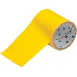 Brady - 104372 - Brady 4' X 100' Yellow Polyester ToughStripe Marking Tape, ( Roll )