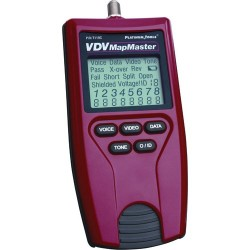 Platinum Tools - T119C - Platinum Tools VDV MapMaster Cable Analyzer