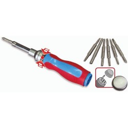 Channellock - 181CB - 18-In-1 Ratcheting Screwdriver