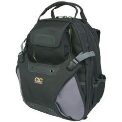 Custom Leathercraft - 1134 - Custom Leather Craft CLC-1134 48 Pocket - Deluxe Heavy-Duty Tool Backpack