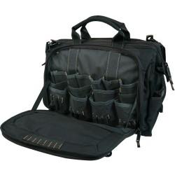 Custom Leathercraft - 1539 - Custom Leather Craft CLC-1539 58 Pocket - 18 Multi-Compartment Tool Carrier