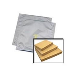 Desco - 13330 - Statshield Metal-In Shielding Bags, 3 x 5, 100 Bags/Pkg