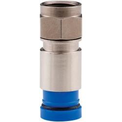 Belden / CDT - SNS1P6 - Belden SNS1P6 F Connector, Sealed, RG6 Cable, 1-Piece Compression, Violet