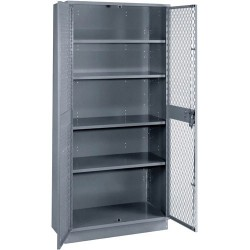 Lyon Workspace - 1151B - Visible Storage Cabinet with 4 Adjustable Shelves, 36 W x 21 D x 72 H