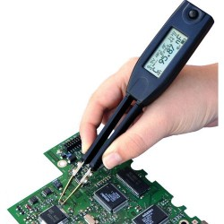 Excelta - TM-500 - LCR Meter, SMD Component Testing Tweezer, 10 kHz, 999 mH, 4999 F, 9.9 Mohm, TM-500 IntelliTweeze