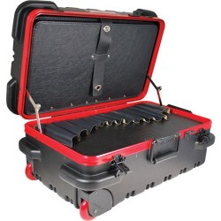 Chicago Case Company - RMSLCART - Mil-Style Slim Line Rugged Tool Case w/ Pallets, 20-3/4 x 12-1/4 x 11