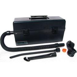 Atrix - VACOMEGA - 1 gal. Industrial Series Fine Dust and Toner ESD Vacuum, 82 cfm, 1-13/64 HP, 5.2 Amps, HEPA, ULPA Fi