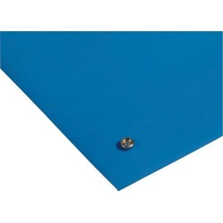 3M - 6811 - Static Dissipative 2-Layer Rubber Table Mat, Blue, 2 x 4