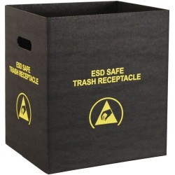 Protektive Pak / Desco - 37814 - Economy Trash Receptacle, Small, 12-1/2 x 10 x 14 IN, 318 x 254 x 356 MM