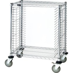 Quantum Storage Systems - TC-19CO - ESD-Safe Tray Cart, Side Load, 18 x 30 x 39