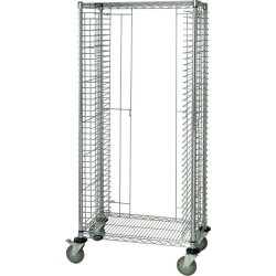 Quantum Storage Systems - TC-39CO - ESD-Safe Tray Cart, Side Load, 18 x 30 x 69