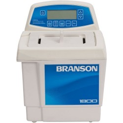 Branson Ultrasonics - CPX1800H - Ultrasonic Cleaner with Digital Timer Plus Digital Heat Control, 1/2 Gallon