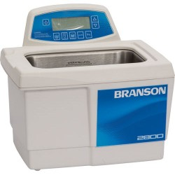 Branson Ultrasonics - CPX2800H - Ultrasonic Cleaner with Digital Timer Plus Digital Heat Control, 3/4 Gallon